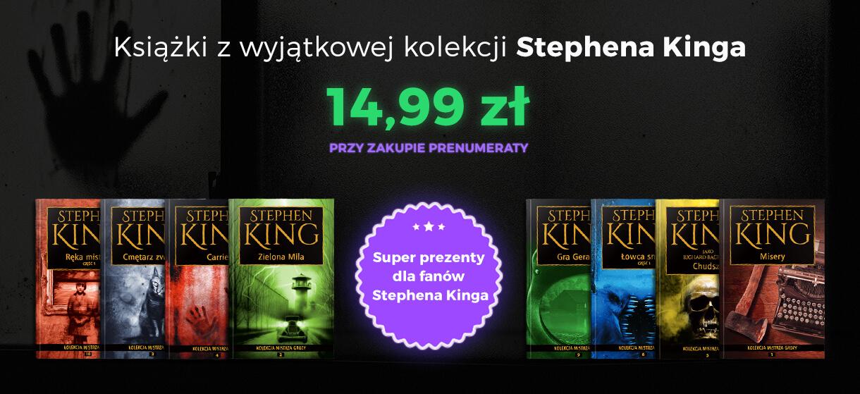 """Oczytany poleca: ,,Kolekcja mistrza grozy"""" – Stephen King"""