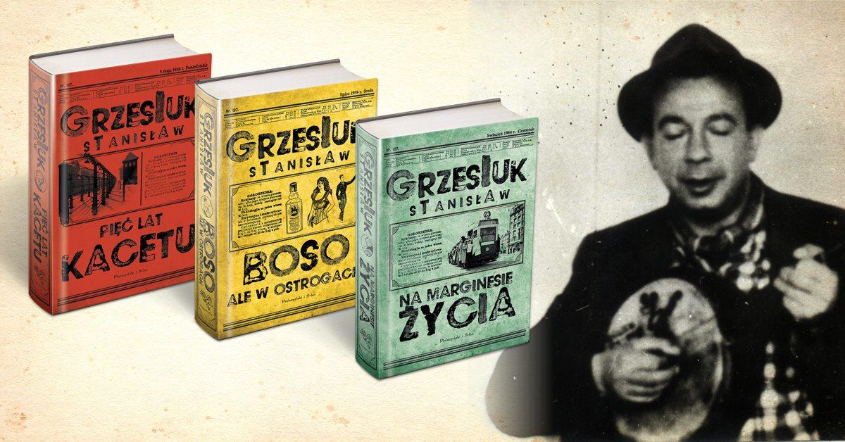 Oczytany poleca: Kultowe dzieła Stanisława Grzesiuka bez cenzury!