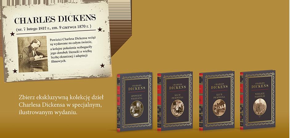 Oczytany poleca: Kolekcja niezwykłych dzieł Charlesa Dickensa