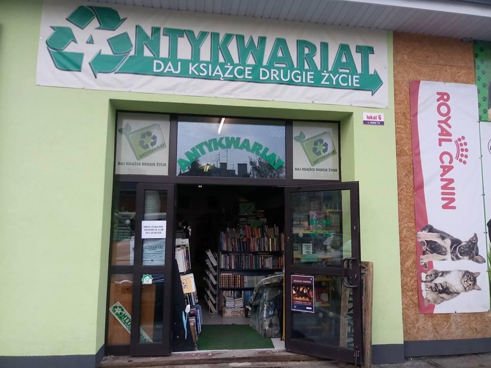 Oczytany poleca: Antykwariat Lublin